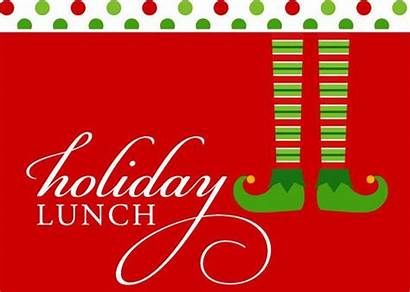 Lunch Holiday Luncheon Clipart Staff Catered Cafe