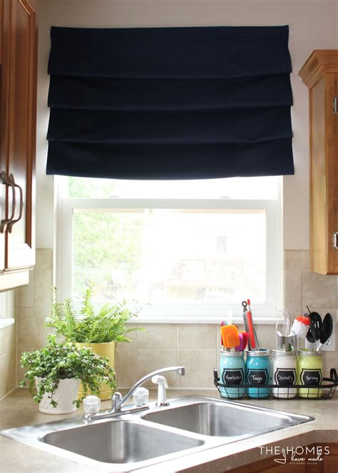 How To Make Nosew, Hardwarefree Roman Shades