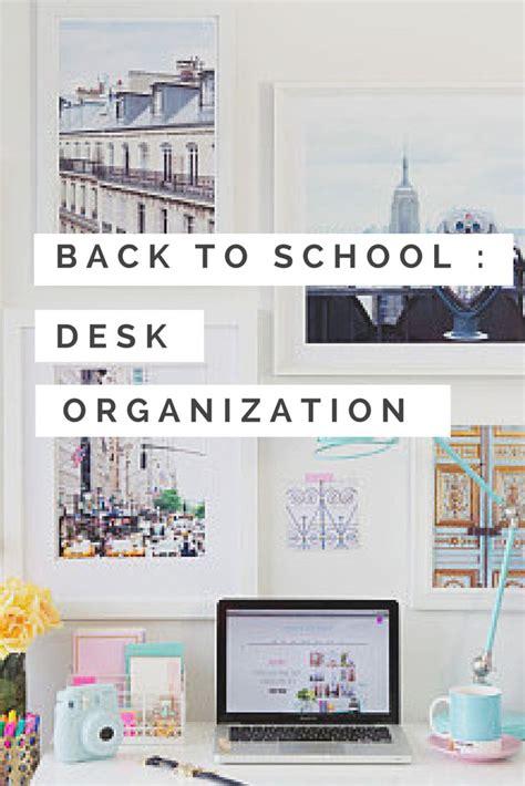 Corner Desk Organization Ideas by Best 25 School Desk Organization Ideas That You Will Like