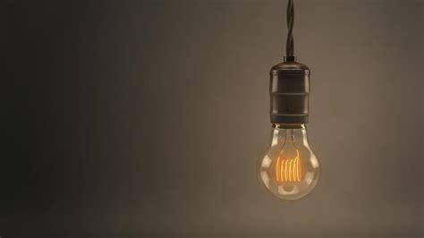 vintage hanging light bulb by scott norris