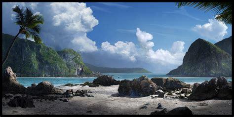 super realistic  landscapes  sceneries