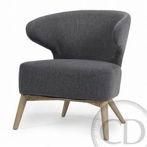 Fauteuil Crapaud Beige : fauteuil crapaud gris anthracite rock sur cdc design ~ Teatrodelosmanantiales.com Idées de Décoration