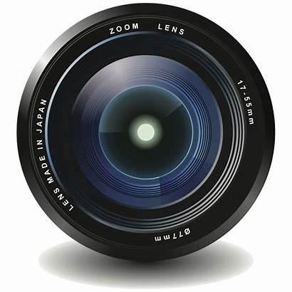 Lens Camera Transparent Clipart Film Lenses Cam