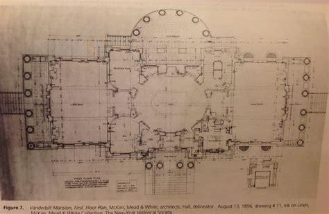 floor plans vanderbilt vanderbilt mansion hyde park 1st floor floor plans pinterest mansions parks and floor