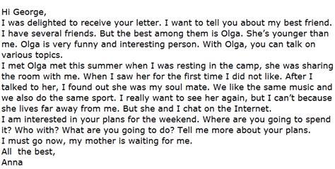 contoh surat dalam bahasa inggris terbaru