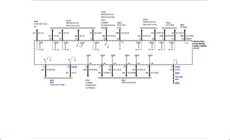 wiring diagrams taurus car club of america ford taurus forum