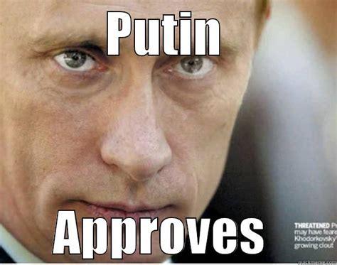 Meme Putin - putin approves meme boomsbeat