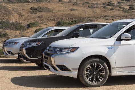 2019 Mitsubishi Outlander Phev Updates For Europe To Debut