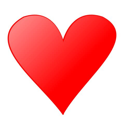 hearts card heart face card clipart