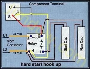 Home Ac Compressor Capacitor Wiring