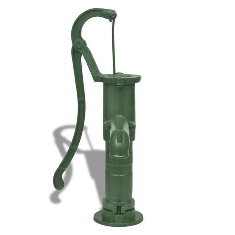 cast iron garden hand water pump vidaxlcomau
