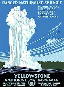 History of Wyoming/Yellowstone National Park, 1872 to ...