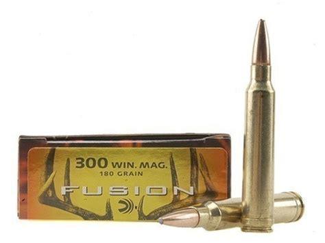 Federal Fusion Ammo 300 Winchester Mag 180 Grain