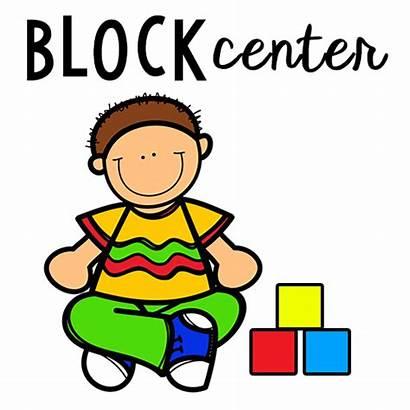 Preschool Center Block Clip Clipart Centers Commotion