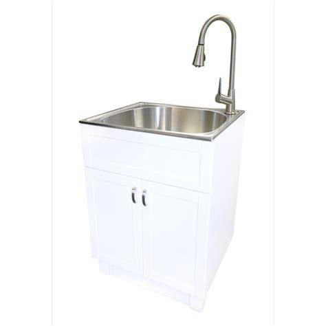 Shop Transform 25 In X 22 In White Cabinet Freestanding