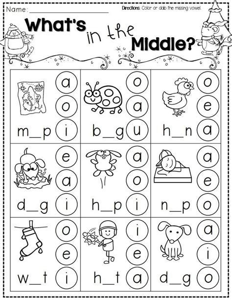 best 25 free printable kindergarten worksheets ideas on 552 | 24c9e8f4a1c9fde569ebd17179376896 winter breaks in the middle