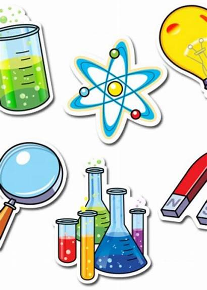 Science Equipment Clipart Cliparts Cartoon Clip Transparent