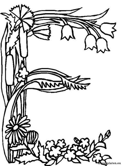 Boomstam Kleurplaat by Kleurplaten Letters Dieren