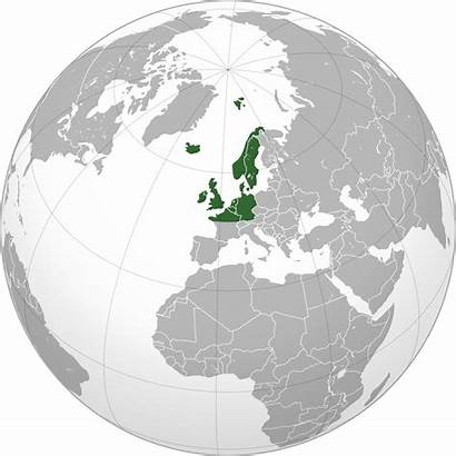 Northwestern Europe Orthographic Projection Northwest Wikipedia Svg