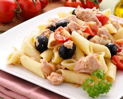 plat facile à cuisiner recette salade de pâtes au thon