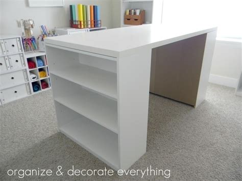 make a desk out of bookshelves build your own desk out of board bought at home depot and