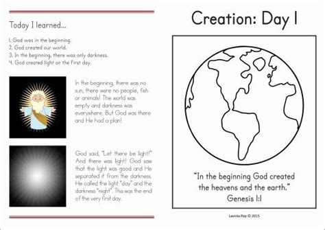 17 best images about sunday school creation on