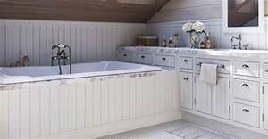Comment Recouvrir Du Lambris : du lambris dans une salle de bain pvc ou bois trait ~ Melissatoandfro.com Idées de Décoration