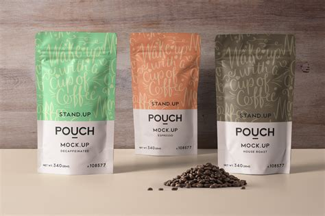 Don't forget to share with your friends! Psd Stand Up Pouch Mockup Vol4 | Psd Mock Up Templates ...