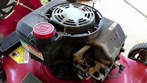 Craftsman Model 917 Briggs And Stratton Gold Series 190cc Carburetor Cleaning And Repair Part 1
