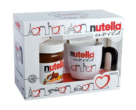 Ferrero Nutella World Mit Tasse Nutella 350g Set