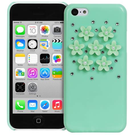 3d cases for iphone 5c fosmon 3d bling rhinestone