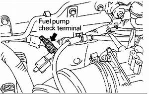 Where And What Colour Is The Power Wire To The Fuel Pump