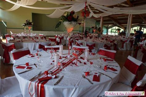 decoration mariage   rouge