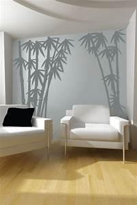 great bamboo wall decals Wall Decals Bamboo 3- WALLTAT.com Art Without Boundaries