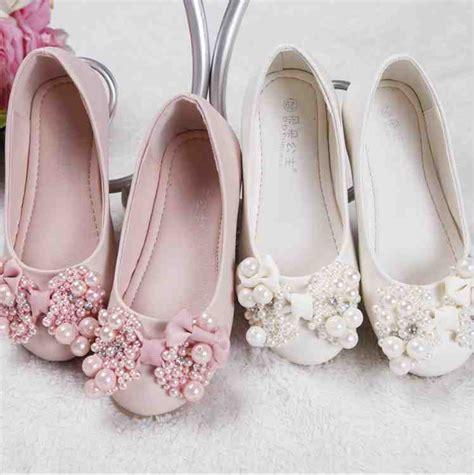 ivory lace flower girl shoes wedding  bridal inspiration