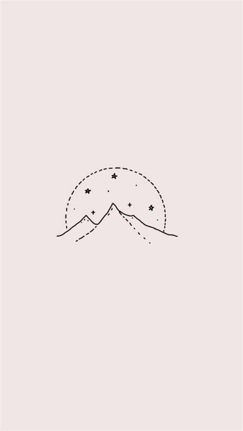 aesthetic minimalist drawings wallpapers