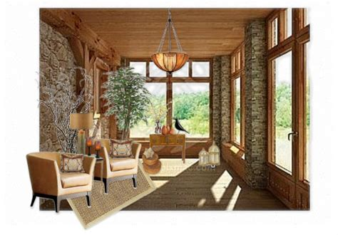 Rustic Sunroom By Cre8