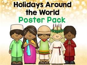 classroom freebies holidays around the world