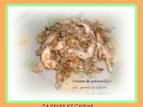 saveurs et cuisine recettes de cuisses de grenouilles de saveurs et cuisine
