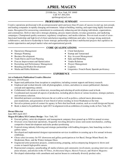 Copy Of Resume by Copy Of Professional Resume For April Magen 3