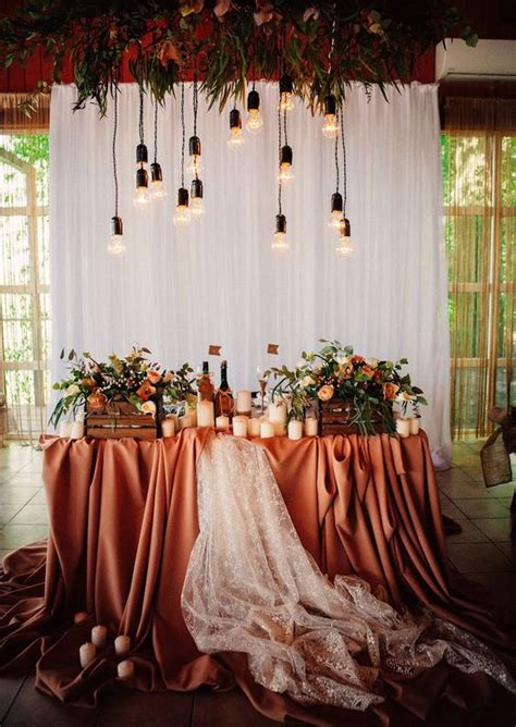 27 Cool Sweetheart Wedding Table Backdrops To Try Crazyforus