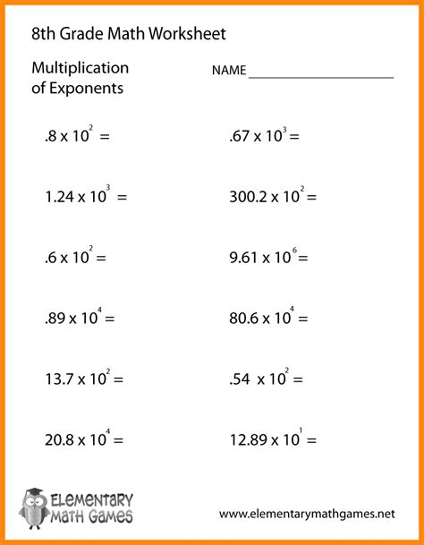 math worksheets grade 8 word problems 8 th grade common math worksheets contemporary photos