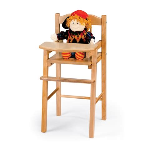 jonti craft traditional doll high chair 0503jc on sale now