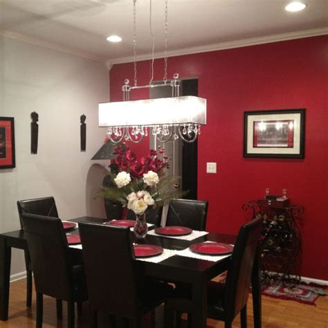 lighting fixture   red dining room  reconsider color change house