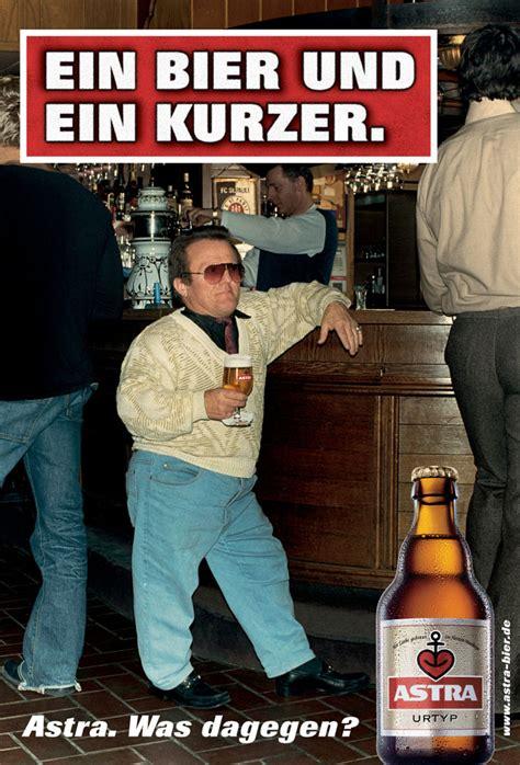 ein bier und ein kurzer