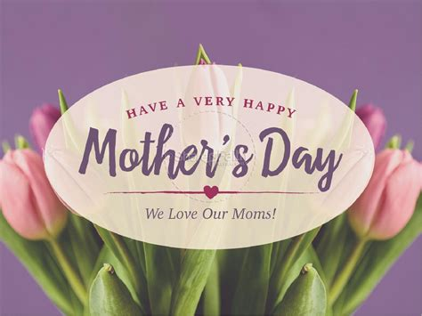mothers day tulips religious powerpoint