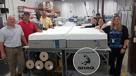 Shaqs Bed Size by Tempur Pedic Made Shaq A Shaq Sized Mattress Slamonline