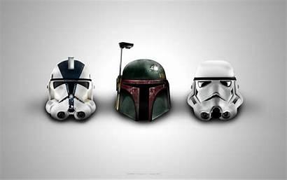 Wars Star Helmet Helmets Fett Clone Trooper