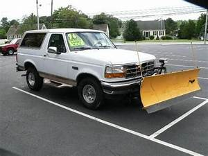 1996 Ford bronco plow