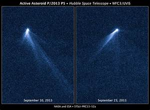 NASA's Hubble Sees Asteroid Spout Six Comet-like Tails ...